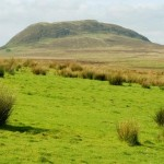 photo of Slemish from Shillnavogy road by Albert Bridge (Wikipedia Commons)