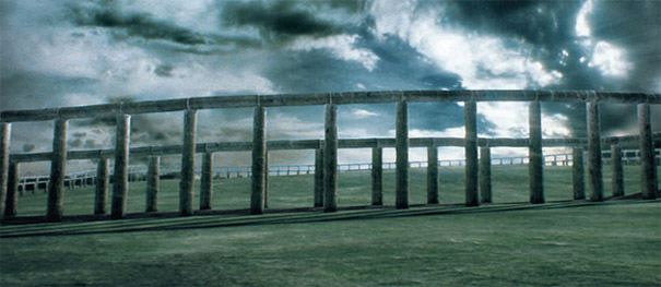 Artists' Impression of The Arena on the Hill of Tara c.