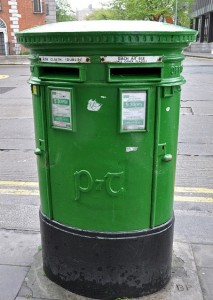 Dublin pillar box (Credit: Anosmia/Flickr)
