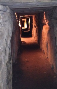 The Western passage in the main mound at Knowth. (Photo: atriptoIreland.com)